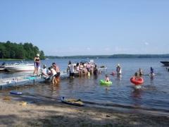 popular recreational lake