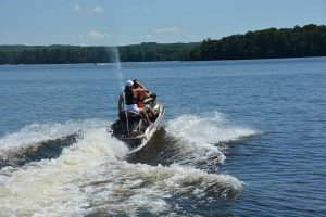 Lake Namakagon Jet Skiing