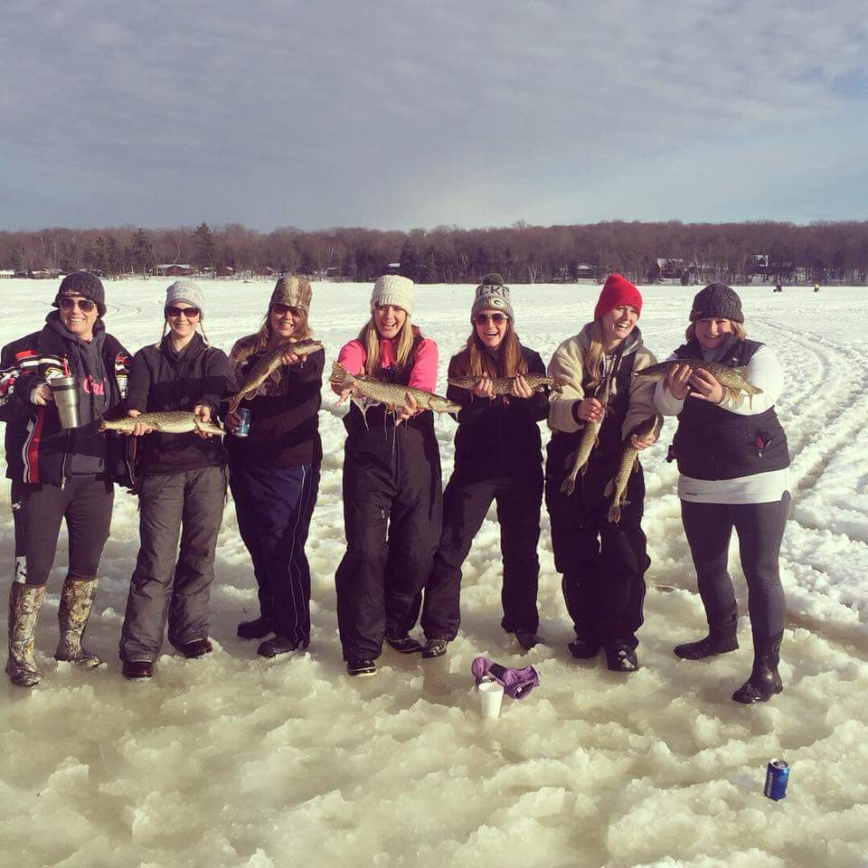 Lake Namakagon Ice Fishing Contest