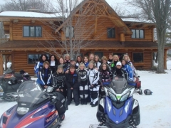 womens snowmobile ride