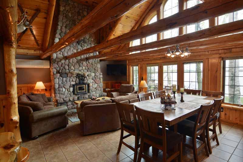 Rustic Loft Cabin 3 Bedroom Lake Home Lodging Cabin Rental